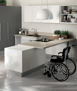 Wide and freely selectable range of solutions congenial to individual needs and furnishing taste.